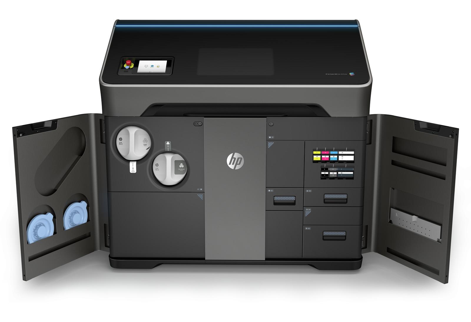 Mieten Sie Ihren HP Jet Fusion 580 3D Drucker