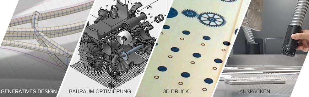 Druckvorstufe bis fertigen Bauteil - 3D Druck mit HP Jet Fusion