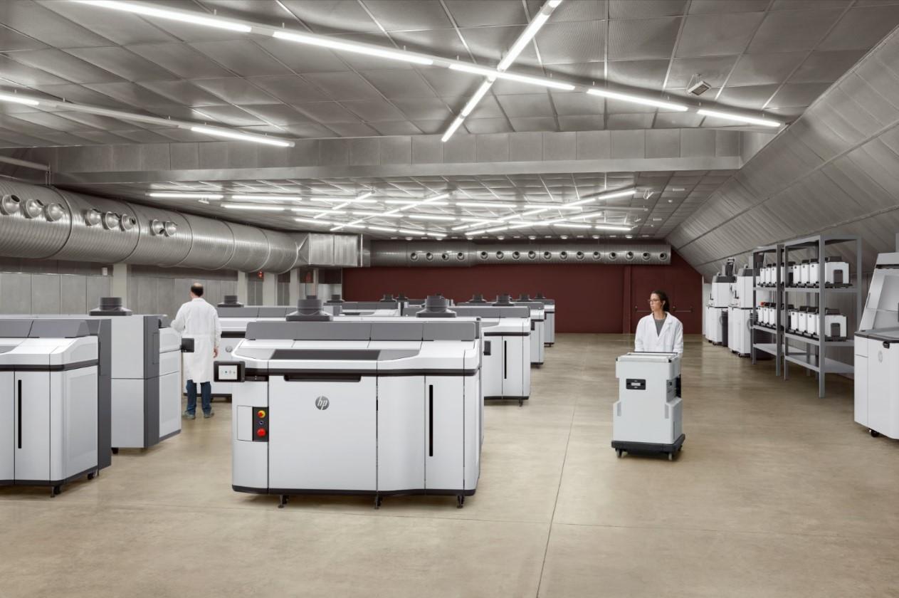 HP Jet Fusion 5200-Serie: Neue 3D-Drucklösung von HP