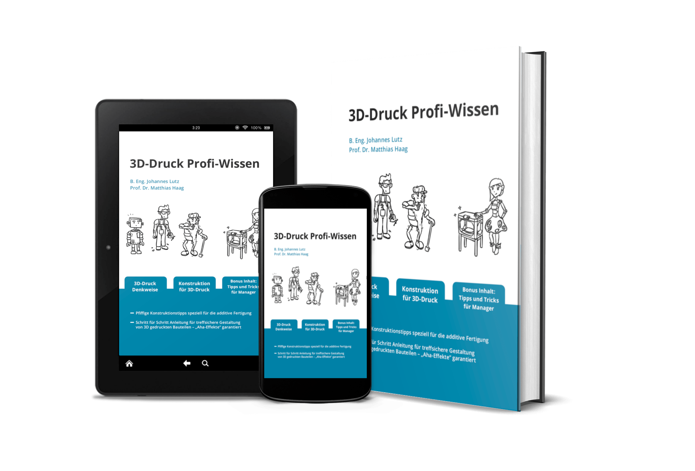 Von Experten empfohlen: 3D-Druck Profi-Wissen Buch