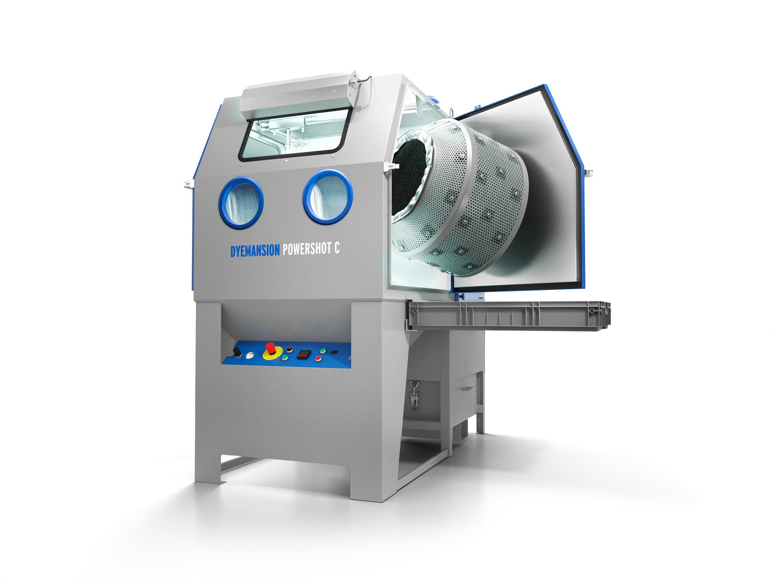 PolyShot Surfacing Homogenisierung automatisierte Entpulvern manuelle Strahlanlagen