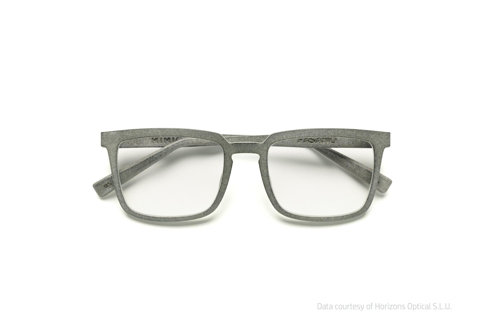 Mit Additiver Fertigung hergestelltes Brillengestell aus Kunststoff