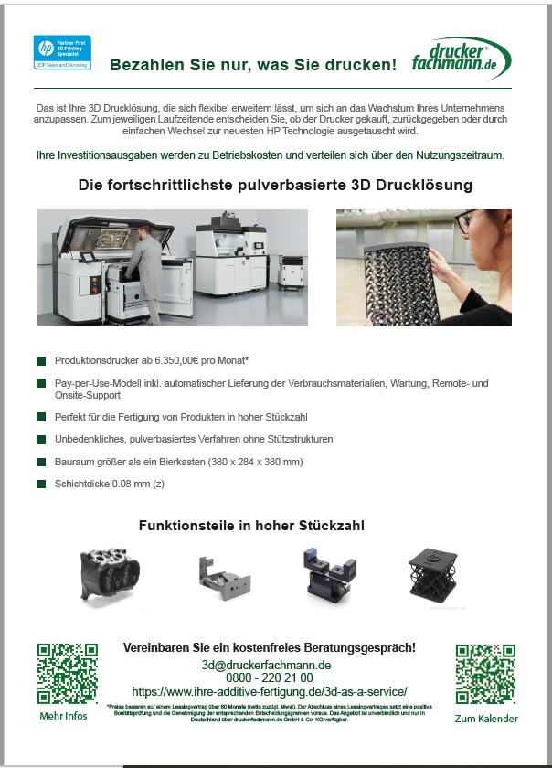 3D as a Service - Informationsblatt